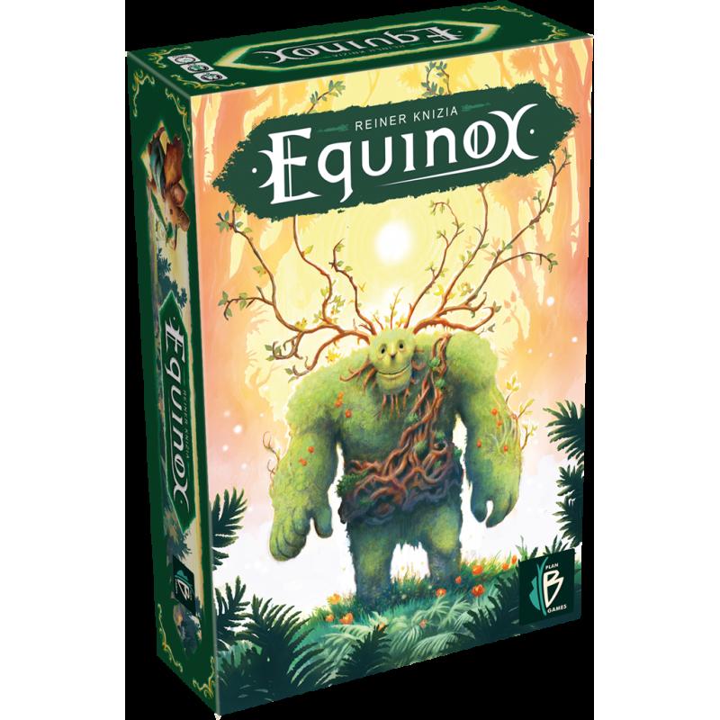 Equinox boite verte jaune