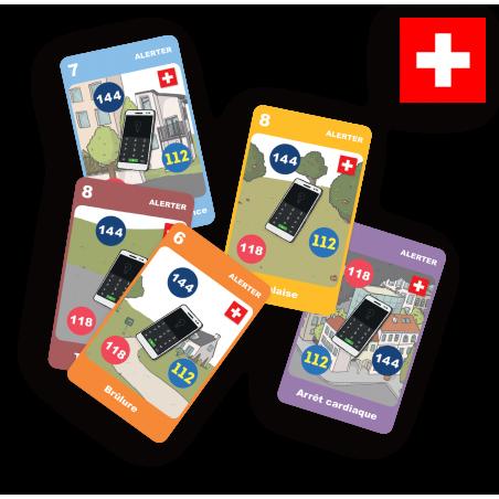Kit Suisse du Jeu Secouriste