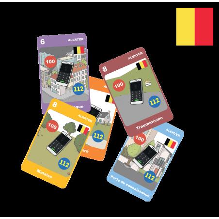 Kit Belgique du Jeu Secouriste