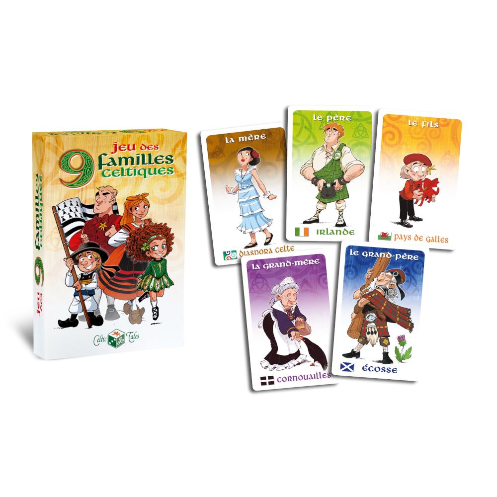 Jeux des 9 familles celtiques