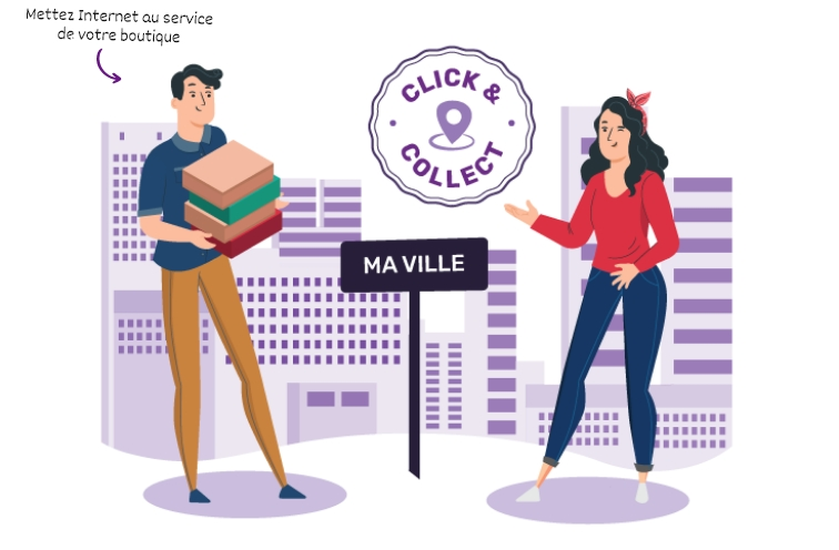 Click'n collect boutique de jeux locale
