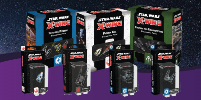 Nouvelles extensions Star Wars X-Wing