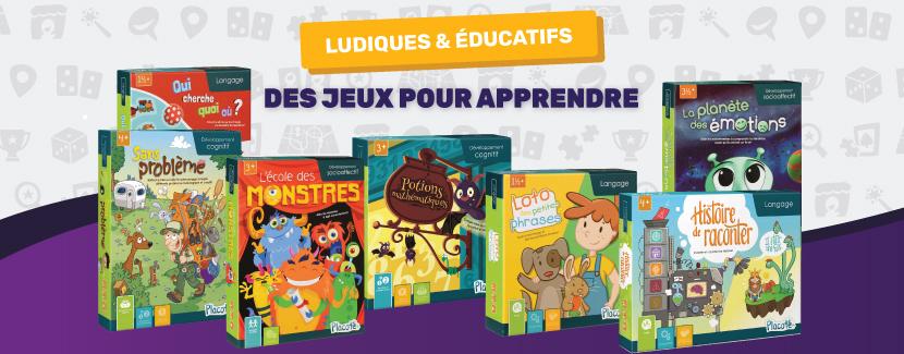 Des nouveaux jeux ludiques et éducatifs pour enfants