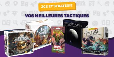 Les nouveaux jeux de stratégie et JCE
