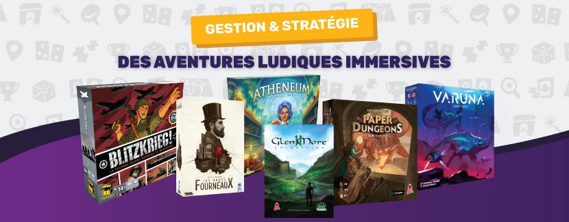 Jeux de stratégie et d'exploration : des aventures ludiques immersives