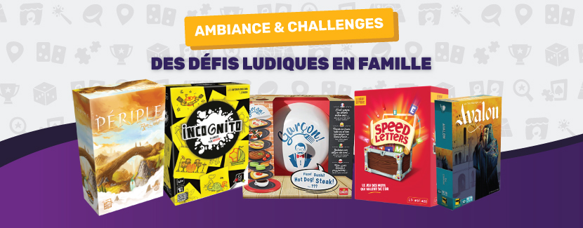 Nouveaux jeux familiaux : challenges et ambiance