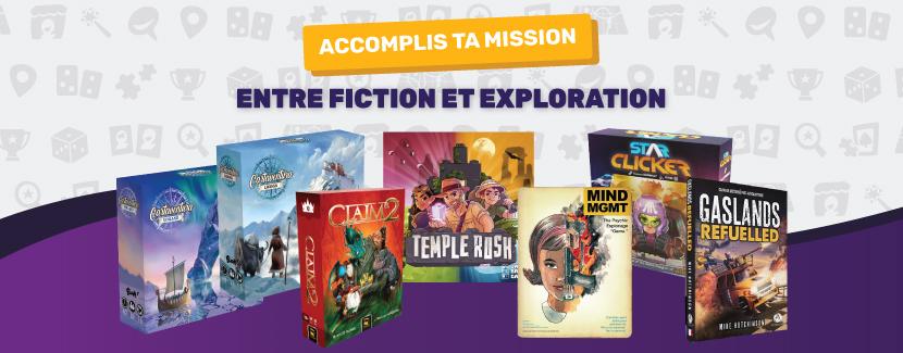 Des nouveaux jeux stratégiques entre fiction et exploration