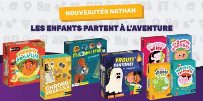 Nouveaux jeux colorés Nathan pour les enfants...