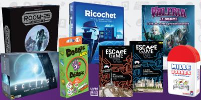 Jeux classiques familiaux revisités, Escape...