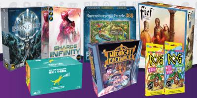 Nouveautés jeux stratégiques, Escape puzzle et jeux d'ambiance